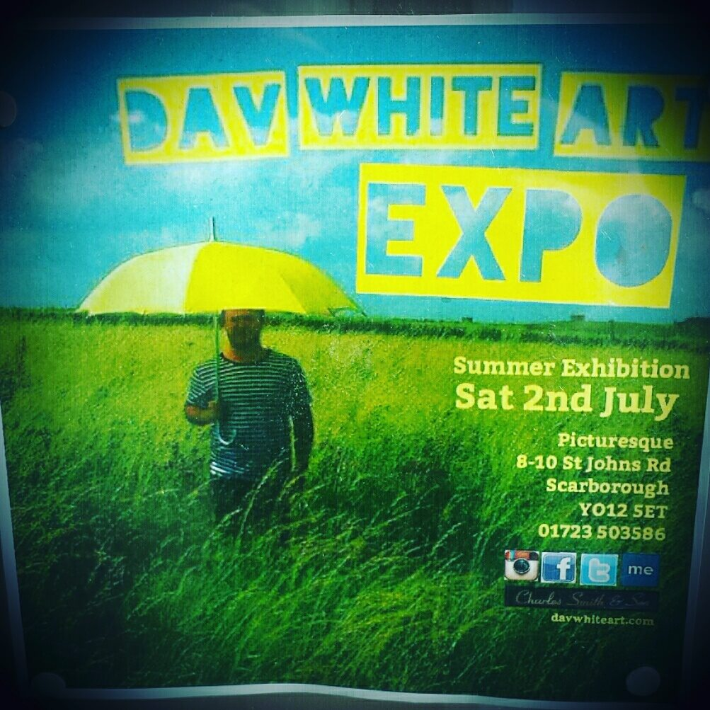 dav white exhibition