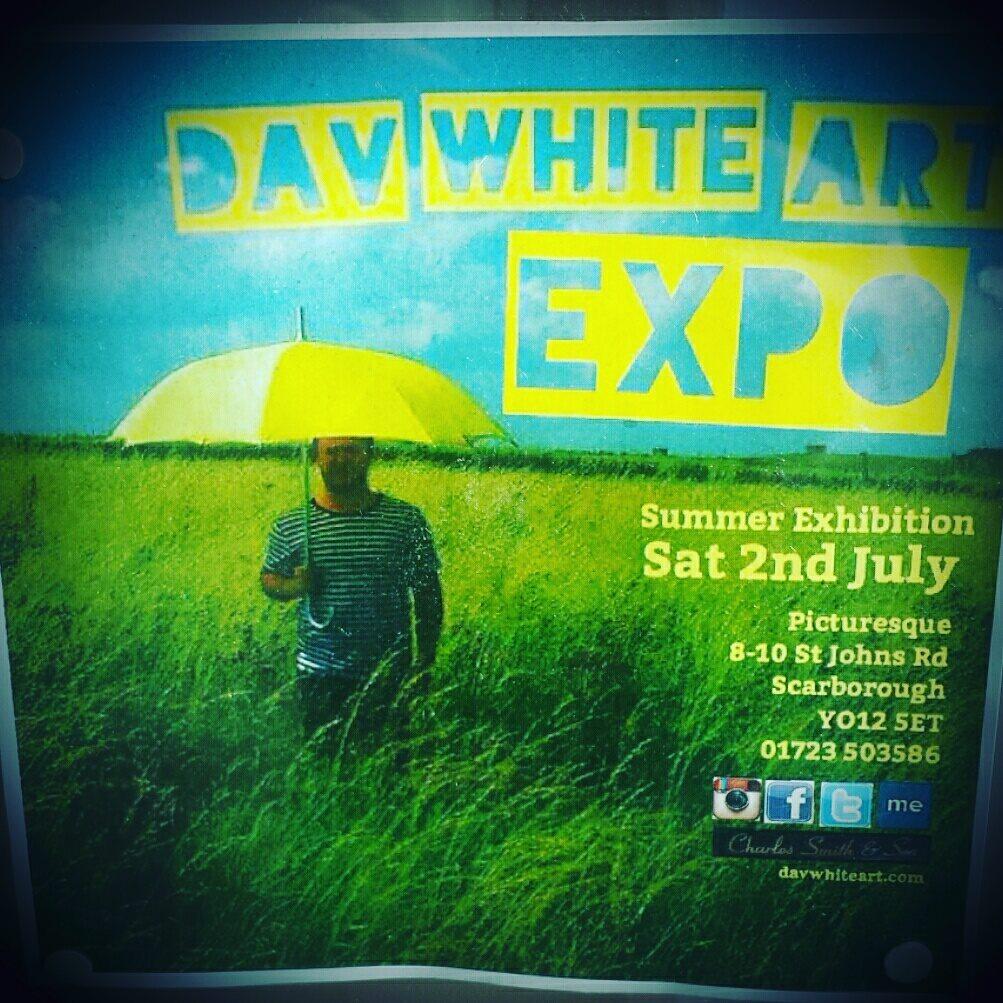 dav white exhibition